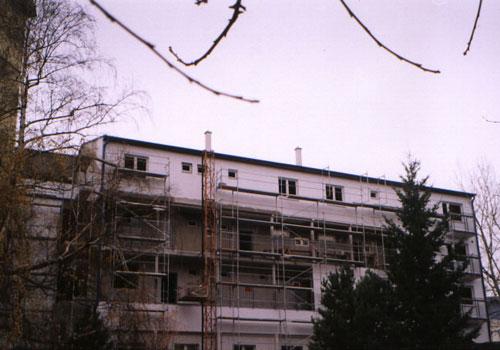 Nadstavba bytového domu na Jaseňovej 12,14