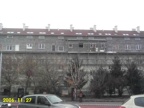 Nadstavba bytových domov na Miletičovej ul. 48 - 54 a Kvetnej ul. 26 - 32