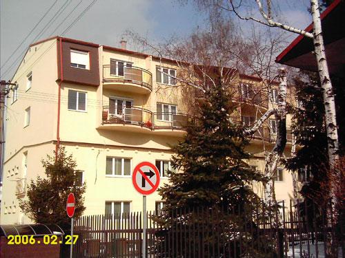 Nadstavba bytového domu na Čerešňovej č.5